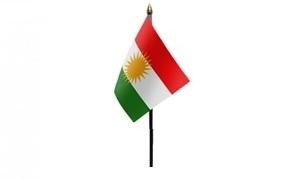 Image of   Kurdistan Håndflag (10x15cm)