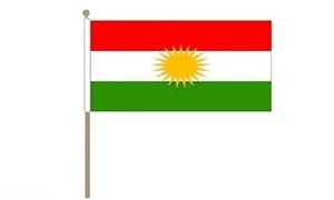 Image of   Kurdistan Håndflag (30x45cm)