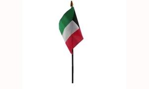 Image of   Kuwait Håndflag (10x15cm)