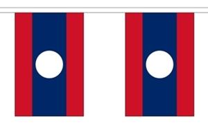 Image of   Laos Guirlander 3m (10 flag)