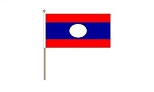 Image of   Laos Håndflag (30x45cm)