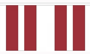Image of   Letland Guirlander 3m (10 flag)