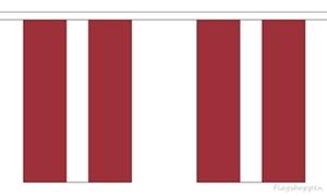 Billede af Letland Guirlander 9m (30 flag)