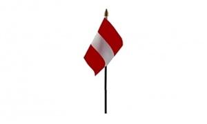 Image of   Letland Håndflag (10x15cm)