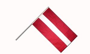 Image of   Letland Håndflag (15x22cm)