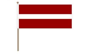 Image of   Letland Håndflag (30x45cm)