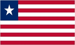 Image of   Liberia Flag (90x150cm)