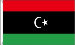 Image of   Libyen Flag (90x150cm)