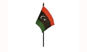 Image of   Libyen Håndflag (10x15cm)