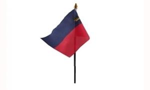 Image of   Liechtenstein Håndflag (10x15cm)