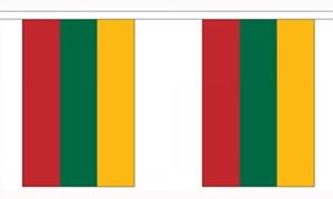 Image of   Litauen Guirlander 3m (10 flag)