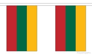 Image of   Litauen Guirlander 9m (30 flag)