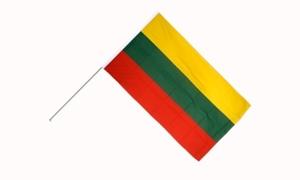 Image of   Litauen Håndflag (15x22cm)