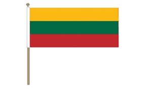 Image of   Litauen Håndflag (30x45cm)
