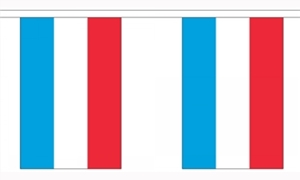 Image of   Luxemborg Guirlander 3m (10 flag)