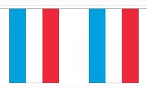 Billede af Luxemborg Guirlander 9m (30 flag)