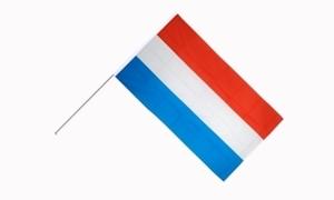 Image of   Luxemborg Håndholdt Papirflag (20x27cm)