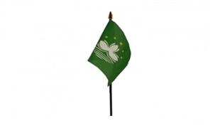 Image of   Macao Håndflag (10x15cm)