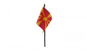 Image of   Makedonien Håndflag (10x15cm)