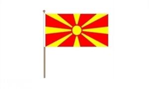 Image of   Makedonien Håndflag (30x45cm)