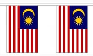 Image of   Malaysia Guirlander 9m (30 flag)