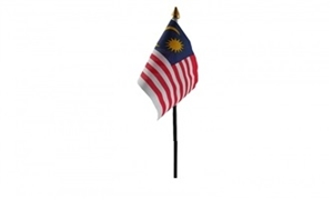 Image of   Malaysia Håndflag (10x15cm)
