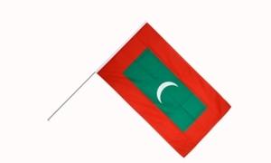 Image of   Maldiverne Håndflag (15x22cm)