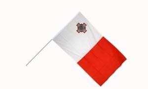 Image of   Malta Håndflag (15x22cm)