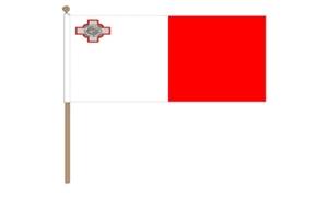 Image of   Malta Håndflag (30x45cm)