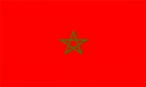 Image of   Marokko Flag (90x150cm)