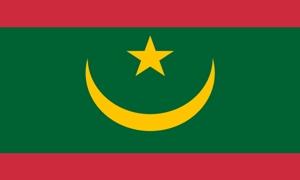 Image of   Mauretanien Flag (90x150cm)