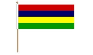 Image of   Mauritius Håndflag (30x45cm)