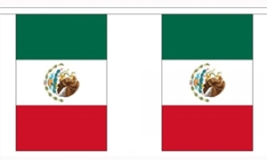 Image of   Mexico Guirlander 9m (30 flag)