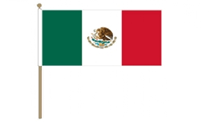 Image of   Mexico Håndflag (30x45cm)