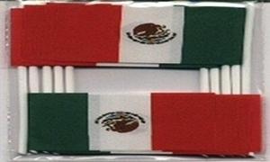 Image of   Mexico Kageflag (30x48mm)