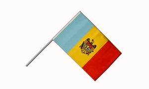 Image of   Moldova Håndflag (15x22cm)