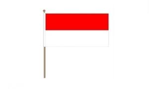 Image of   Monaco Håndflag (30x45cm)