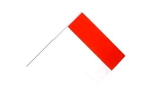 Image of   Monaco Håndholdt Papirflag (20x27cm)