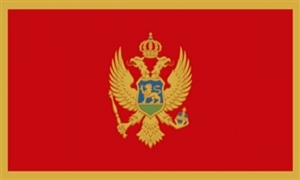 Image of   Montenegro Flag (90x150cm)