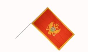 Image of   Montenegro Håndflag (15x22cm)