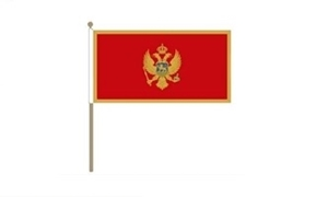 Image of   Montenegro Håndflag (30x45cm)