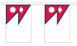 Image of   Nepal Guirlander 3m (10 flag)