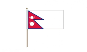 Image of   Nepal Håndflag (30x45cm)