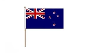 Image of   New Zealand Håndflag (30x45cm)