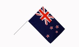 Image of   New Zealand Håndholdt Papirflag (20x27cm)
