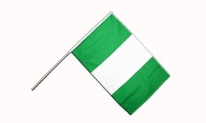 Image of   Nigeria Håndflag (15x22cm)