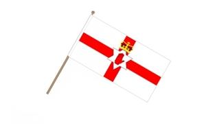 Image of   Nordirland Håndflag (15x22cm)