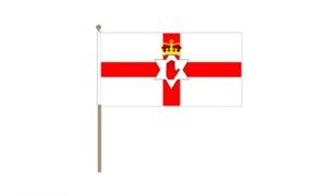 Image of   Nordirland Håndflag (30x45cm)