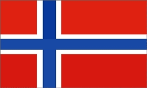 Image of   Norge Flag (90x150cm)