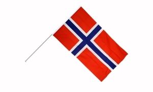 Image of   Norge Håndflag (15x22cm)